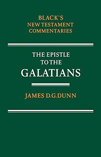 9780713634259: Epistle to the Galatians (Black's New Testament Commentaries)