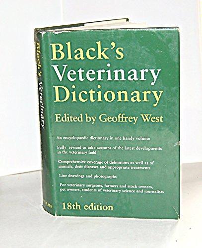 9780713639469: Black's Veterinary Dictionary