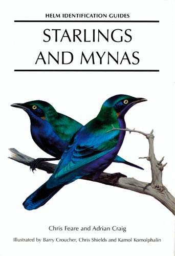9780713639612: Starlings and Mynas (Helm Identification Guides)