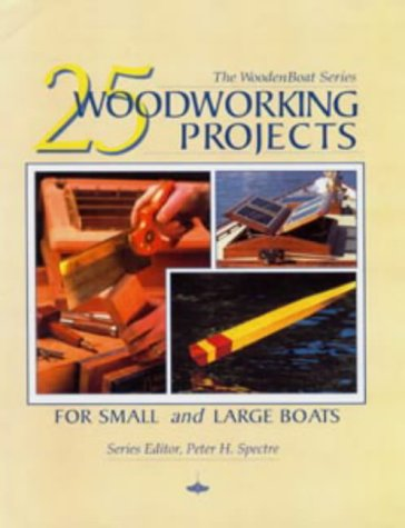 9780713649338: 25 Woodworking Projects for Small and Large Boats