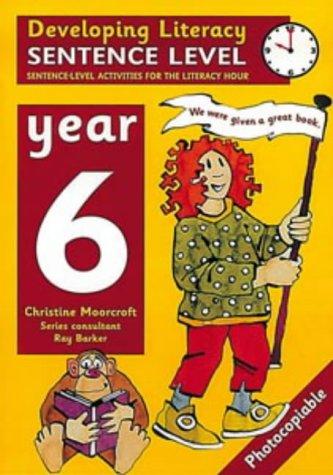 9780713651744: Developing Literacy: Sentence Level Activities Year 6 Sentence-Level Activities for the Literacy Hour
