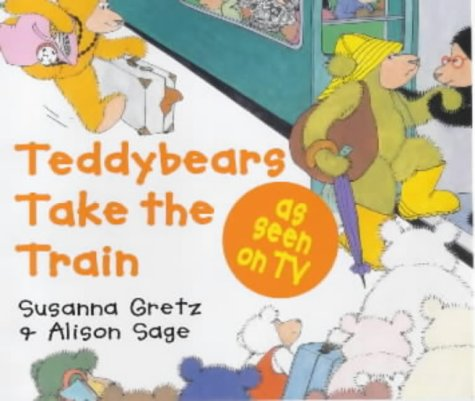 9780713653618: Teddybears Take the Train