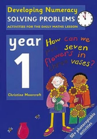 9780713654448: Solving Problems: Year 1: Activities for the Daily Maths Lesson (Developing Numeracy)