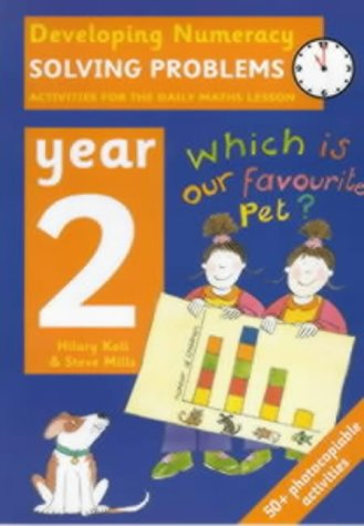 9780713654455: Solving Problems: Year 2: Activities for the Daily Maths Lesson (Developing Numeracy)