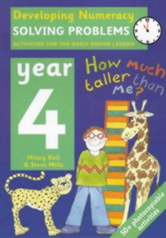 9780713654479: Solving Problems: Year 4: Activities for the Daily Maths Lesson (Developing Numeracy)