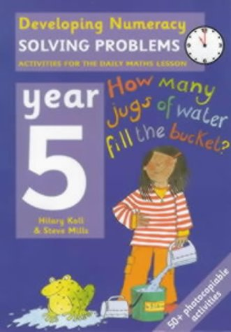9780713654486: Solving Problems: Year 5: Activities for the Daily Maths Lesson (Developing Numeracy)