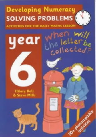 9780713654493: Solving Problems: Year 6: Activities for the Daily Maths Lesson (Developing Numeracy)