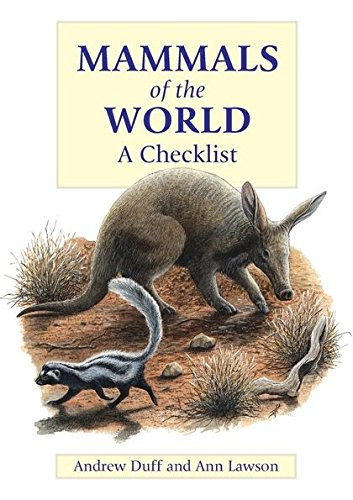 9780713660210: Mammals of the World: A Checklist
