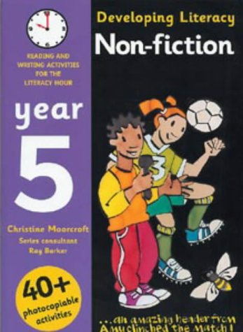 9780713660692: Non-fiction: Year 5: Reading and Writing Activities for the Literacy Hour (Developing Literacy)