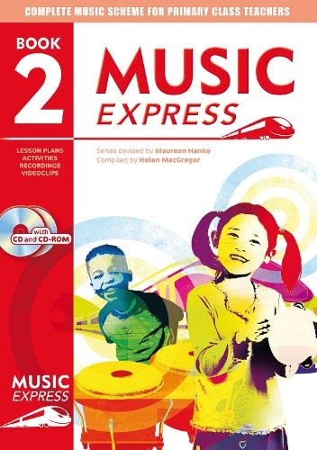 9780713662276: Music Express: Book 2 (Book + CD + CD-ROM): Lesson Plans, Recordings, Activities and Photocopiables