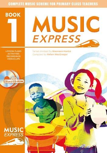 9780713662313: Music Express: Book 1 (Book + CD + CD-ROM): Lesson Plans, Recordings, Activities and Photocopiables