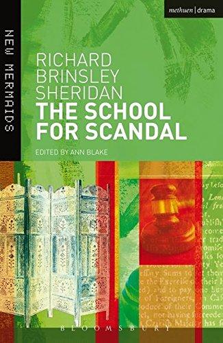 9780713662900: School for Scandal