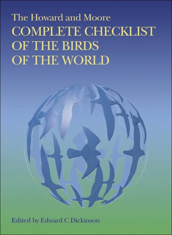 9780713665369: The Howard and Moore Complete Checklist of the Birds of the World.