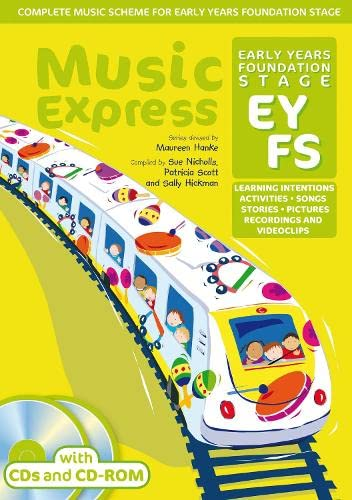 9780713665826: Music Express Foundation Stage (Book + 2CDs + CD-ROM): Activities, Learning Intentions, Recordings, Videoclips