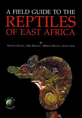 9780713668179: A Field Guide to the Reptiles of East Africa: Kenya, Tanzania, Uganda, Rwanda and Burundi