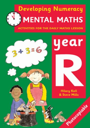 9780713669091: Mental Maths: Year R: Activities for the Daily Maths Lesson (Developing Numeracy)