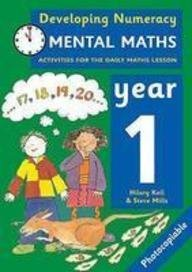 9780713669107: Mental Maths: Year 1: Activities for the Daily Maths Lesson (Developing Numeracy)