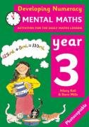 9780713669121: Mental Maths: Year 3: Activities for the Daily Maths Lesson (Developing Numeracy)