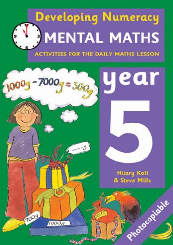 9780713669145: Mental Maths: Year 5: Activities for the Daily Maths Lesson (Developing Numeracy)