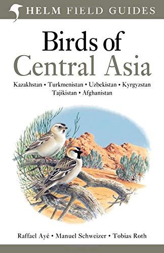 9780713670387: Birds of Central Asia (Helm Field Guides)