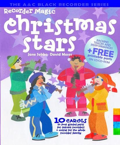9780713670455: Recorder Magic Christmas Stars : 12 Christmas Greats, Arranged in 4 Parts - Solo or Ensemble