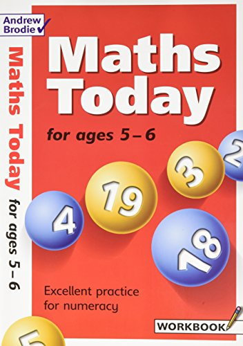 Maths Today for Ages 5-6 (Maths Today): Brodie, Andrew