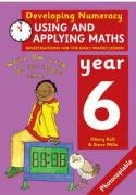 9780713671414: Using and Applying Maths: Year 6: Investigations for the Daily Maths Lesson (Developing Numeracy)