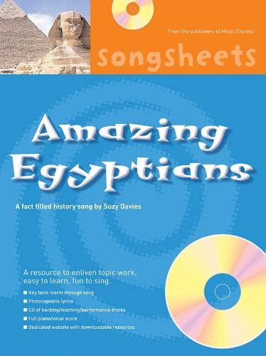 9780713671810: Amazing Egyptians: A Fact Filled History Song by Suzy Davies