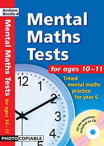 9780713673104: Mental Maths Tests for Ages 10-11: Timed Mental Maths Tests for Year 6
