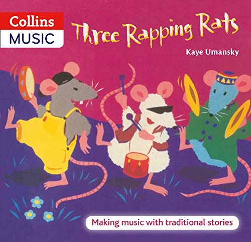 9780713673159: Three Rapping Rats: Making Music with Traditional Stories (The Threes)