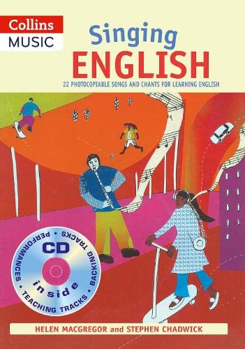 9780713673616: Singing English (Book + CD): 22 Photocopiable Songs and Chants for Learning English (Singing Languages)