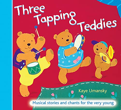9780713674736: The Threes ? Three Tapping Teddies: Musical stories and chants for the very young