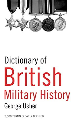 9780713675078: Dictionary of British Military History