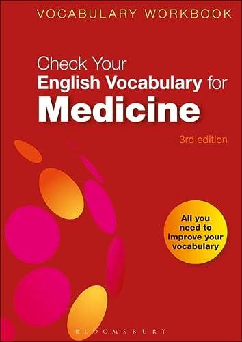 9780713675900: Check Your English Vocabulary for Medicine: All you need to improve your vocabulary (Check Your Vocabulary)