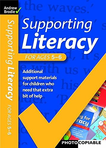9780713676068: Supporting Literacy For Ages 5-6
