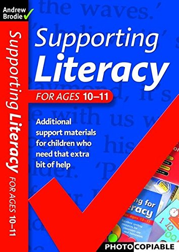 9780713676112: Supporting Literacy For Ages 10-11