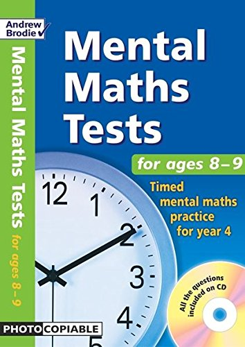 9780713676624: Mental Maths Tests for Ages 8-9: Timed Mental Maths Practice for Year 4
