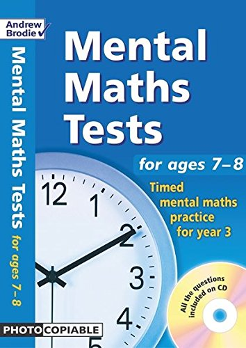 9780713676631: Mental Maths Tests for Ages 7-8