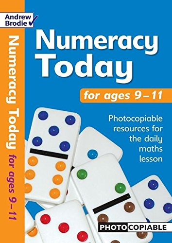Numeracy Today for Ages 9-11 (Maths Today): Brodie, Andrew