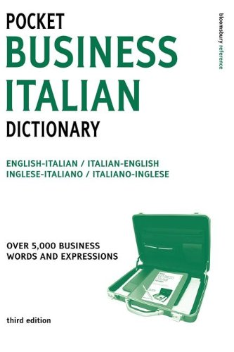 9780713677362: Pocket Business Italian Dictionary