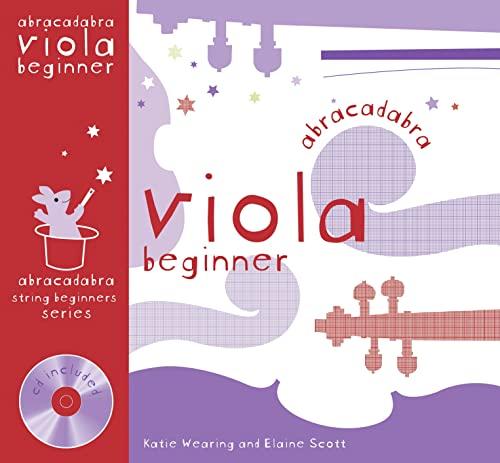 9780713678390: Abracadabra Viola Beginner (Pupil's book + CD)