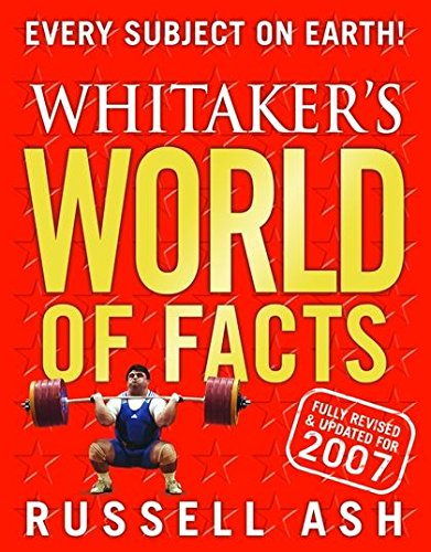 Whitaker's World of Facts 2007 (9780713678666) by Russell Ash