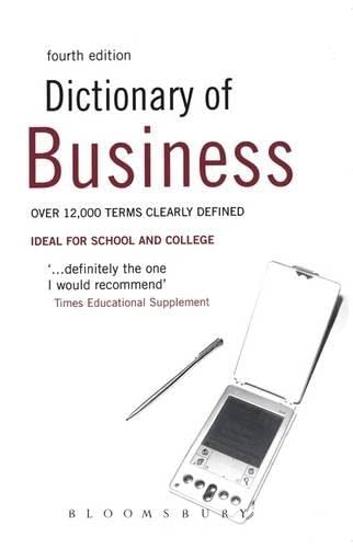 9780713679182: Dictionary of Business