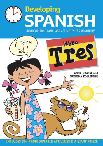 9780713679311: Developing Spanish: Libro tres: Photocopiable Language Activities for Beginners: Bk. 3