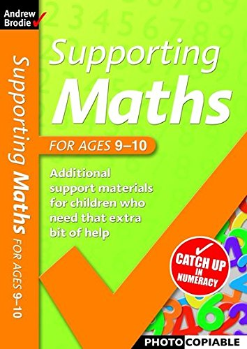 9780713679489: Supporting Maths for Ages 9-10