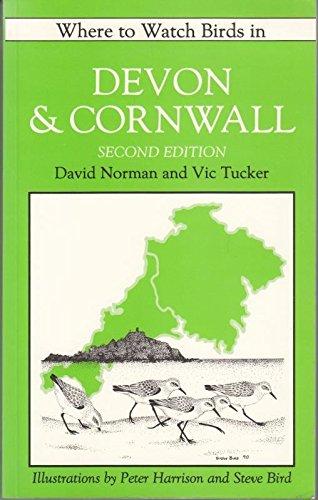 9780713680515: Where to watch birds in Devon & Cornwall;
