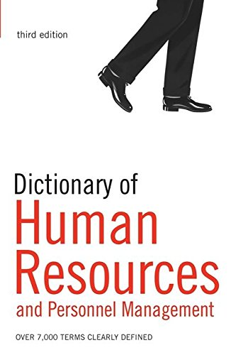 Dictionary of Human Resources and Personnel Management: Ivanovic, A. &