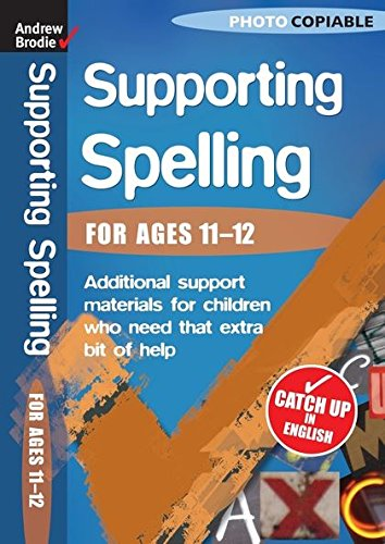 9780713684124: Supporting Spelling 11-12