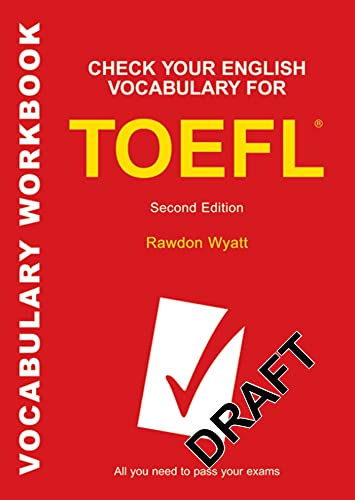 9780713684148: Check Your English Vocabulary for TOEFL