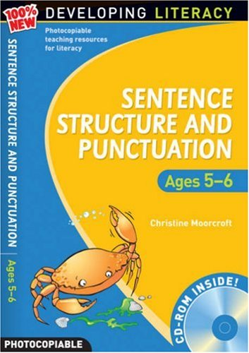 9780713684544: Sentence Structure and Punctuation - Ages 5-6: 100% New Developing Literacy: Year 1